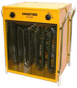 Master B22 Electric Fan Heater 22Kw 415v 3-Phase