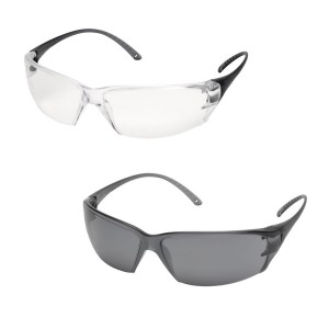 Delta Plus MILO Safety Specs / Glasses (Clear or Smoke)