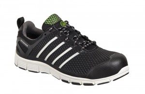 Apache MOTION Waterproof Safety Work Trainer Shoes Black (Sizes 6-12)