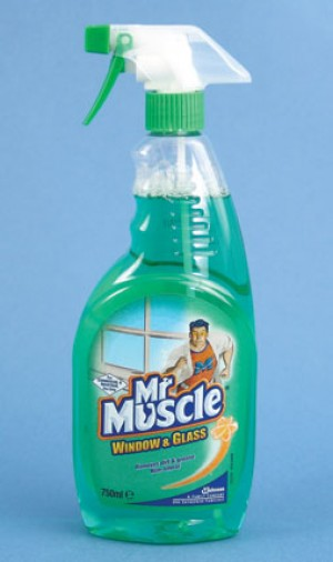 Mr Muscle Trigger Spray Glass Cleaner 750ml