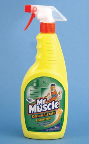Mr Muscle Trigger Spray Kitchen Cleaner 750ml