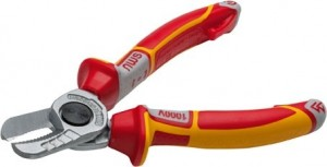 NWS VDE Electrician's Cable Cutter Pliers 160mm
