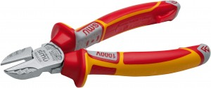 NWS VDE Electrician's Side Cutter Pliers - 160mm