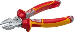 NWS VDE 2-in-1 Electrician's Multi-Function Side Cutter Pliers 160mm