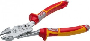 NWS VDE Electrician's Super Leverage Side Cutter Pliers 200mm