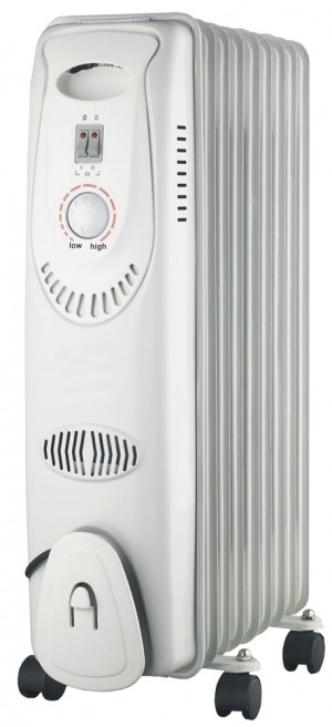 Elite Oil Filled Radiator Heater 2kw 240v