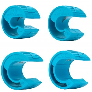 OX Pro PolyZip Plastic Pipe Cutter Set 4-Piece