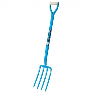 OX Trade Solid Forged 4 Prong Fork
