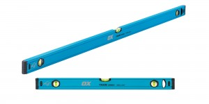 OX Trade Twin Pack 600mm & 1200mm Spirit Levels in Nylon Bag