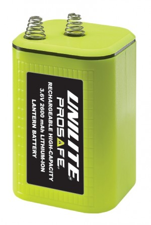 Unilite Replacement Rechargeable Battery For Lantern Torches