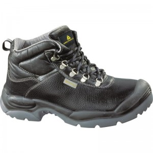 Delta Plus SAULT Safety Work Boots Black (Sizes 7-12) Split Leather