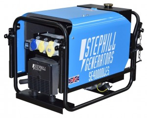 Stephill SE4000DLES Silenced Electric Start Diesel Generator with Long Run Tank 3.2kW/4.0kVA