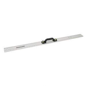 Silverline Aluminium Marking Level Rule 900mm