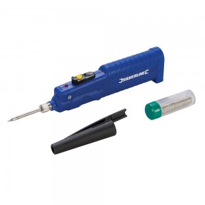 Silverline Battery-Powered Soldering Iron 8W