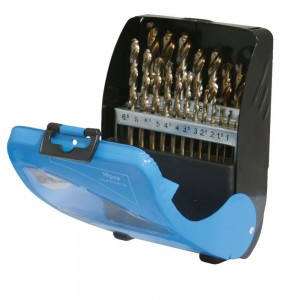 Silverline Cobalt Drill Bit Set 19 Piece (1-10mm)