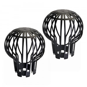 Silverline Downpipe Filter Guards Pack of 2