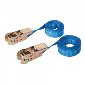 Silverline Endless Ratchet Tie-Down Strap Pack of 2