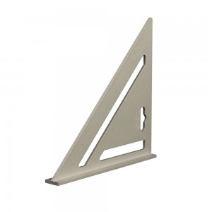 Silverline Heavy Duty Aluminium Roofing Rafter Square 185mm / 7in