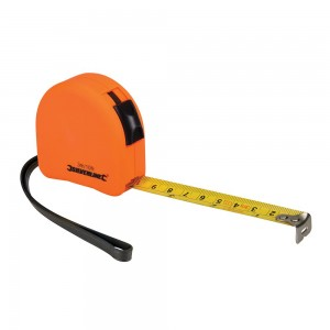Silverline Hi-Vis Contour Tape Measure (Various Sizes)