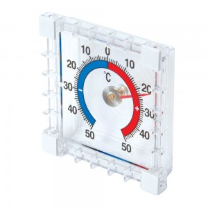 Silverline Indoor/Outdoor Stick-On Thermometer