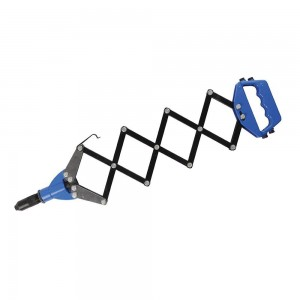 Silverline Lazy Tong Riveter with 5 Nozzles (3.2 - 6.4mm)