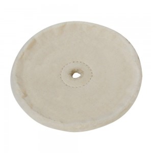 Silverline Loose-Leaf Cotton Buffing Wheel