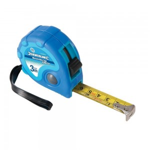 Silverline Measure Mate Tape Measure (Various Sizes)