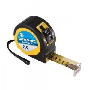 Silverline Measure Max Tape Measure (Various Sizes)