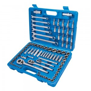 Silverline Mechanics Tool Set 90 Piece