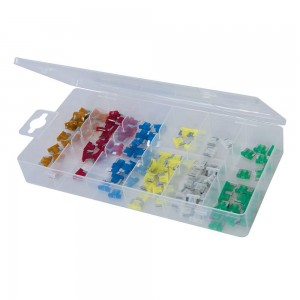 Silverline Micro Fuse Set 120 Piece