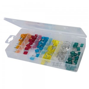 Silverline Mini Fuse Set 120 Piece