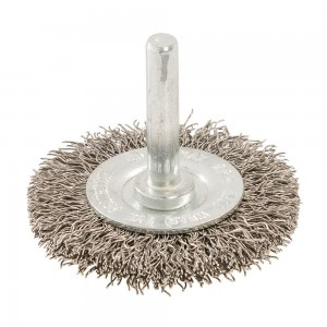 Silverline Rotary Steel Wire Wheel Brush (Various Sizes)