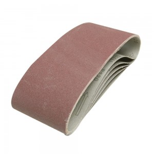 Silverline Sanding Belts 100 x 610mm Pack of 5 (Various Grits)
