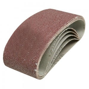 Silverline Sanding Belts 75 x 457mm Pack of 5 (Various Grits)