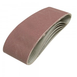 Silverline Sanding Belts 75 x 533mm Pack of 5 (Various Grits)
