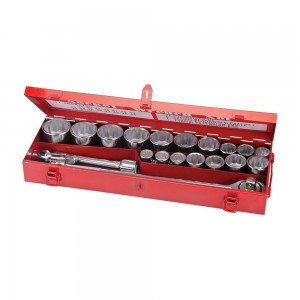 Silverline Socket Set 3/4in Drive Metric 21 Piece