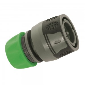 Silverline Soft-Grip Hose Quick Connector 1/2in Female