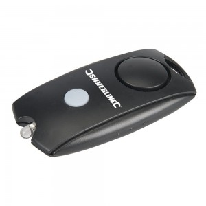 Silverline Squeeze Personal Alarm with LED Light