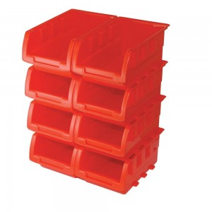 Silverline Stacking Boxes Set 8 Piece