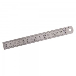 Silverline Steel Rule (150 - 900mm Sizes)