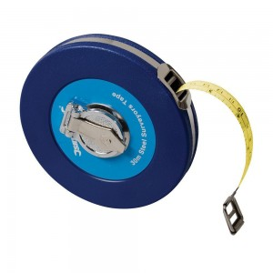 Silverline Steel Surveyors Long Tape Measure (Various Sizes)