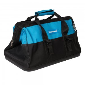 Silverline Tool Bag Hard Base Wide Mouth 406x230x200mm