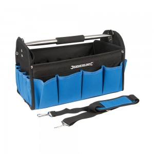 Silverline Tool Bag Open Tote 400x200x255mm