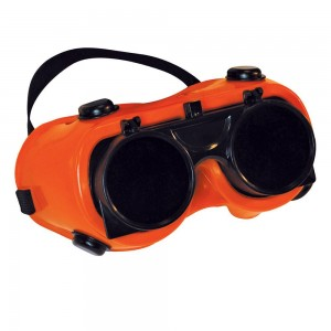 Silverline Welding Goggles Clear No.5 Green