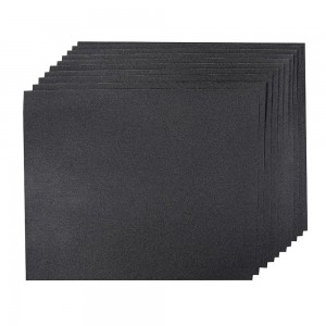 Silverline Wet & Dry Hand Sanding Sheets Pack of 10 (Various Grits)