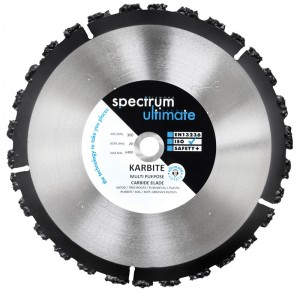 Spectrum KRB KARBITE Multi Purpose Carbide Blades (Size 115-350mm)