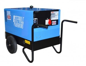 Stephill SSD6000 Super Silent Diesel Generator with Long Run Tank 4.8kW/6.0kVA (3 Phase / 400v)