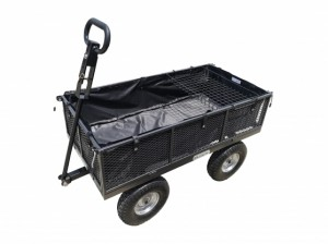 The Handy 400kg (880lb) Garden Trolley with Liner & Tool Tray