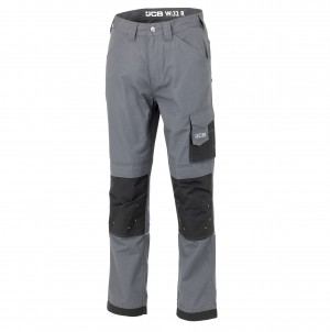 JCB Trade Ripstop Work Trousers Grey (Various Sizes)