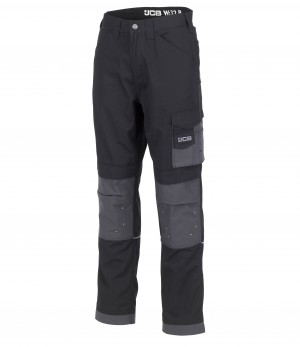 JCB Trade Ripstop Work Trousers Black (Various Sizes)